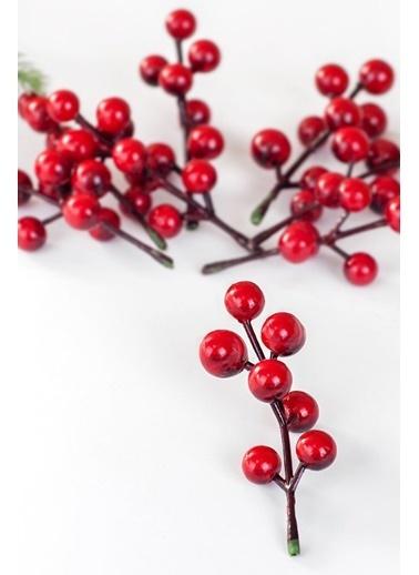 Funbou Yapay Çiçek, Holly / 10 Adet Kırmızı